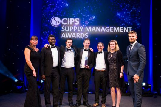 Salisbury wins national procurement award